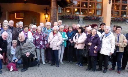 Rentnerclub der Siedler an der blühenden Bergstraße