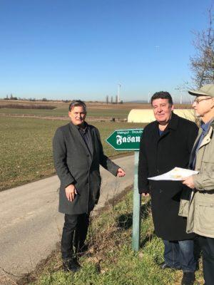 Jung und Driessen für vierspurigen Ausbau der Rheinhessenstrasse