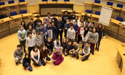 """Klimaschutz auch bei """"Jugend im Rathaus"""" Thema"""