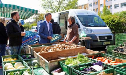 Regionale Ernährung auf den Wochenmärkten stärker in den Fokus rücken