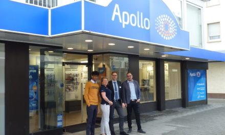 """<span class=""""entry-title-primary"""">Beratung und Service aus Meisterhand</span> <span class=""""entry-subtitle"""">Seit November 2018 gibt es Apollo-Optik in Rüsselsheim </span>"""