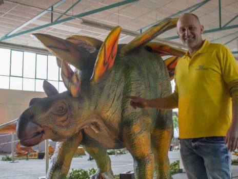 Karten für Dinosaurierausstellung zu gewinnen