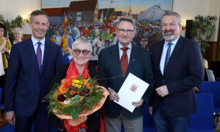 Land zeichnet verdiente Rüsselsheimer aus