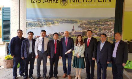 Chinesische Kulturdelegation besucht neben Frankfurt, Prag und Amsterdam auch Nierstein