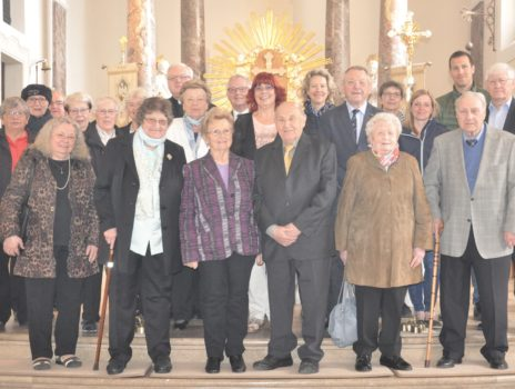 Kommunionjubiläum am 05. Mai 2019 in Mainz-Laubenheim
