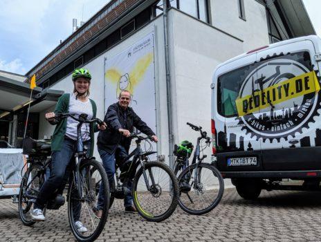 Stadtmuseum: Saison für den Verleih von E-Bikes gestartet