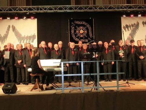 Großes Jubiläum bei den Sängern