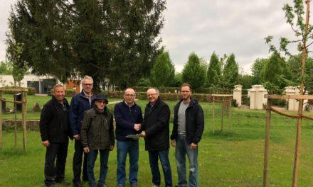 Spendenübergabe 1.250 Jahre Mommenheim – durch die CDU- Mommenheim