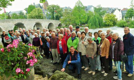 """""""Mir Haßlischer"""" in Kloster Altenberg und Wetzlar unterwegs"""
