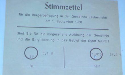 """<span class=""""entry-title-primary"""">Der 7. Juni 1969 – Ein schwarzer Tag (?)</span> <span class=""""entry-subtitle"""">Vor 50 Jahren verloren die Dörfer Ebersheim, Hechtsheim und Laubenheim ihre Selbständigkeit</span>"""