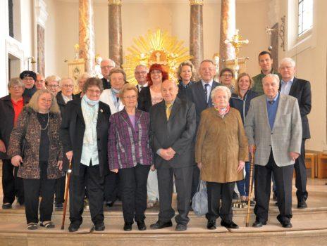 Kommunion-Jubiläum in Laubenheim