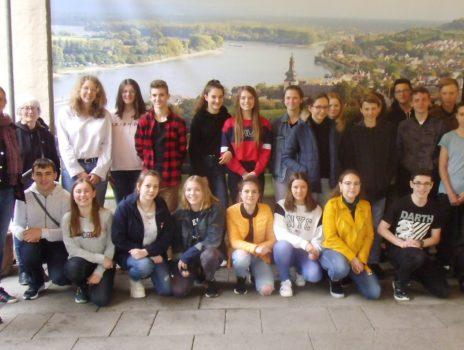 Schülerinnen und Schüler aus Frankreich besuchen Nierstein