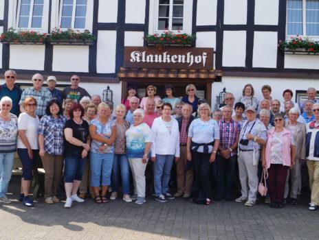 Jahresausflug der Wanderer der SG Eintracht Rüsselsheim