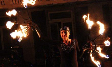 Über 1.000 Besucher beim Niersteiner Parklichterfest