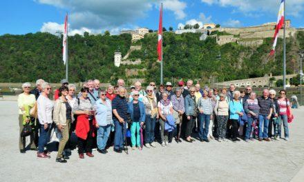 """Tagesfahrt ins sehenswerte Koblenz mit """"Mir Haßlischer"""""""