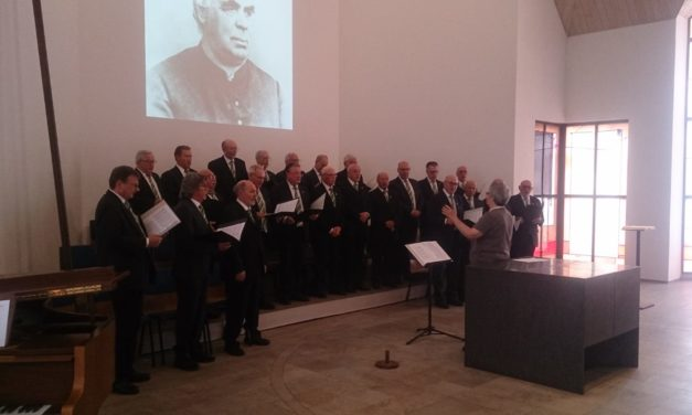 Volksliederbund sang in St. Ingbert