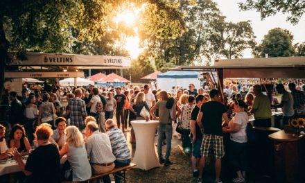 4. Rüsselsheimer Weinfest vom 5. bis 7. Juli im Verna-Park