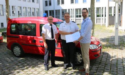 Michael Kämpfer neuer stellvertretender Leiter der Feuerwehr