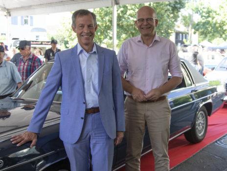 Fahrzeuge mit dem H-Kennzeichen locken 30.000 Menschen nach Rüsselsheim