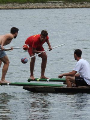 DLRG Inselfest kämpft mit Wetterkapriolen