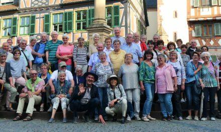 """""""Mir Haßlischer"""" besichtigten das Kloster Lorsch und Ladenburg"""