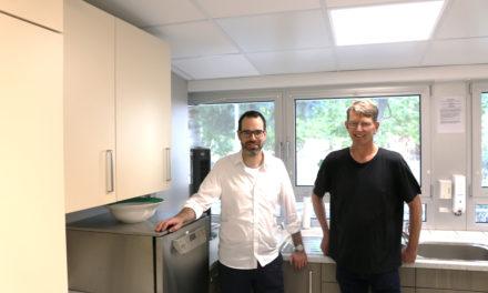 Neue Küche für die Kita Paul-Ehrlich-Straße