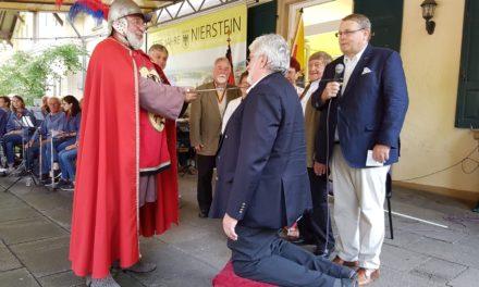 Helmut Reichert und Karl Stack sind Niersteiner Weinschöffen 2019