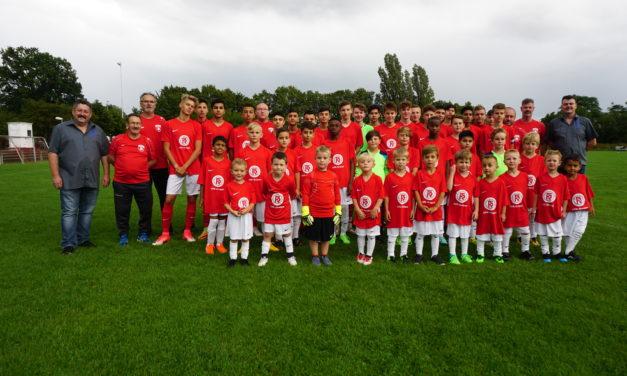 OFR-Gruppe unterstützt die SV 07 Bischofsheim mit 3 Trikotsätzen