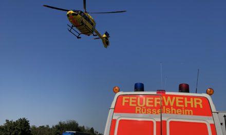 """<span class=""""entry-title-primary"""">Ereignisreicher Tag für die Rüsselsheimer Feuerwehr</span> <span class=""""entry-subtitle"""">Gleich zwei schwere Verkehrsunfälle</span>"""
