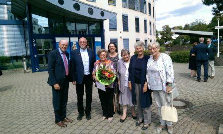 Ehrennadel des Landes Rheinland-Pfalz für Emmi Gispert