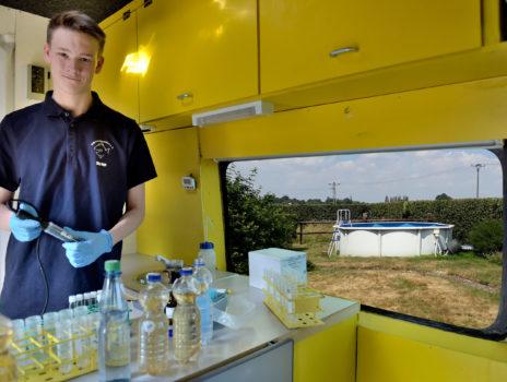 Kostbares Leitungswasser beim Planschen sparen