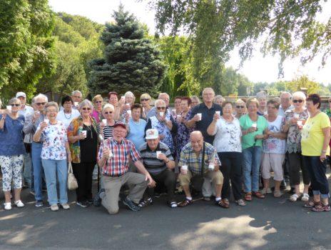 Gelungene Überraschungsfahrt der Siedler-Rentner