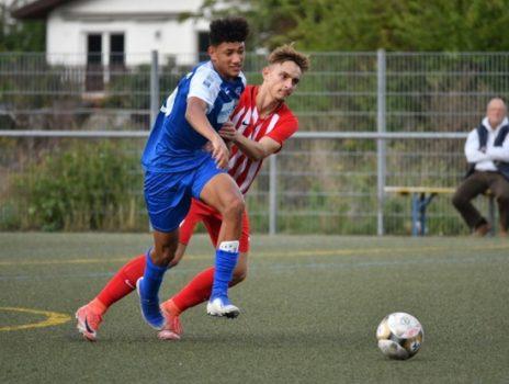 VfB Ginsheim, Junioren: Fünfter Sieg im sechsten Spiel