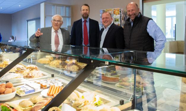 Wiedereröffnung Café Stolz nach Umbau