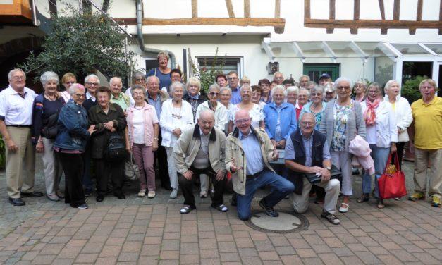 Rentnerclub der Siedler besuchte Bad Bergzabern