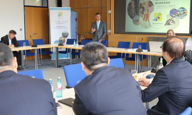 Delegation des chinesischen Luftfahrkonzerns AVIC im Rüsselsheimer Rathaus zu Besuch