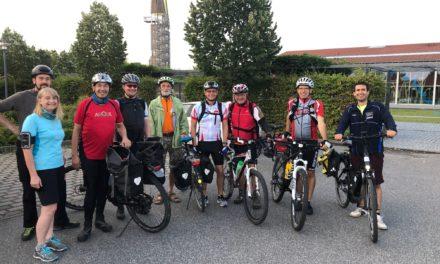 """<span class=""""entry-title-primary"""">Arbeit und Spaß</span> <span class=""""entry-subtitle""""> 190 km mit dem Fahrrad für die gute Sache</span>"""