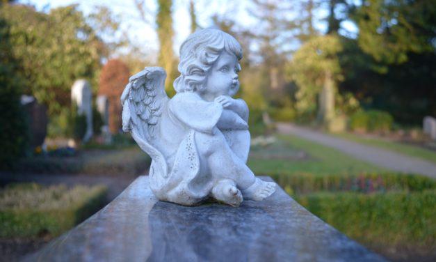 Gärtnerbetreute Grabanlage auf dem Waldfriedhof Rüsselsheim