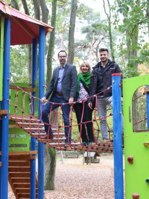 Ostpark: Größter Rüsselsheimer Spielplatz generalüberholt