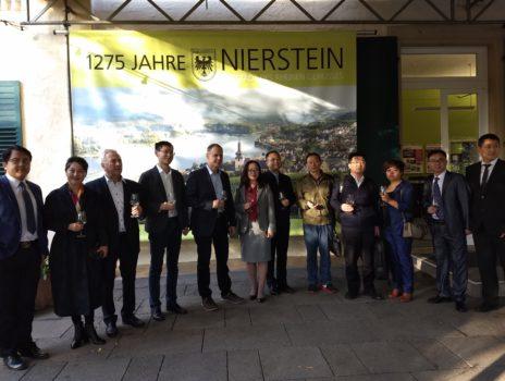 Stadtbürgermeister Jochen Schmitt empfängt Gäste aus der Provinz Hubei