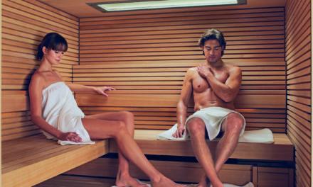 Stark im Leben: Die Sauna hilft!