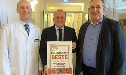 """GPR Klinikum mit dem Deutschlandtest-Siegel """"Deutschlands Beste"""" ausgezeichnet"""