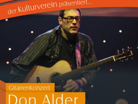 Gitarrenkonzert mit Don Alder