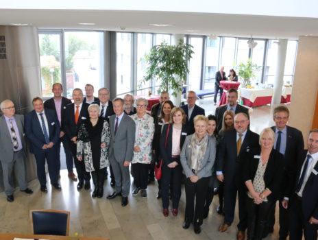 Wirtschaftsdelegation diskutiert deutsch-französische Kooperation