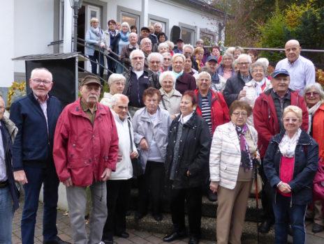 Rentnerclub der Siedler besuchte Bad Marienberg