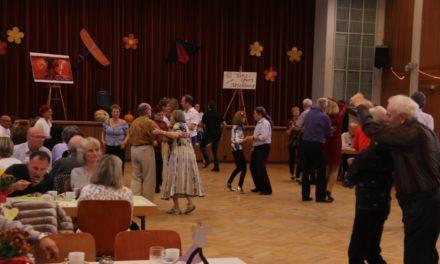 Herbst-Tanztreff 2019 im Bürgerhaus Gustavsburg