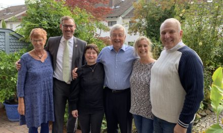 Bürgermeister gratulierte Gerhard Mantel zum 75sten