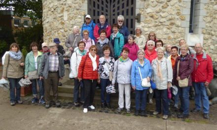 Senioren wanderten zur Flörsheimer Warte