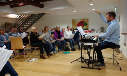 Kilians-Chor probte für adventliches Konzert