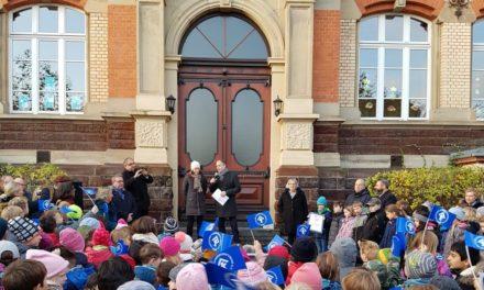 """Der """"Platz der Kinderrechte"""" in Nierstein"""